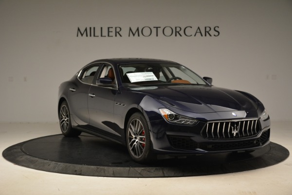 Used 2019 Maserati Ghibli S Q4 for sale Sold at Alfa Romeo of Greenwich in Greenwich CT 06830 11