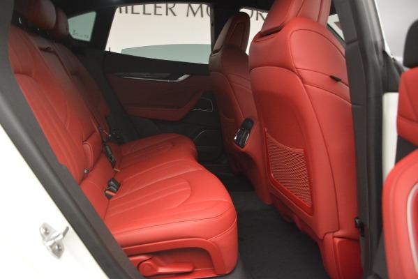 New 2019 Maserati Levante S Q4 GranSport for sale Sold at Alfa Romeo of Greenwich in Greenwich CT 06830 28