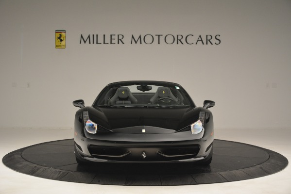 Used 2013 Ferrari 458 Spider for sale Sold at Alfa Romeo of Greenwich in Greenwich CT 06830 12