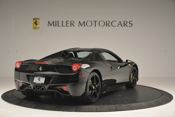 Used 2013 Ferrari 458 Spider for sale Sold at Alfa Romeo of Greenwich in Greenwich CT 06830 19
