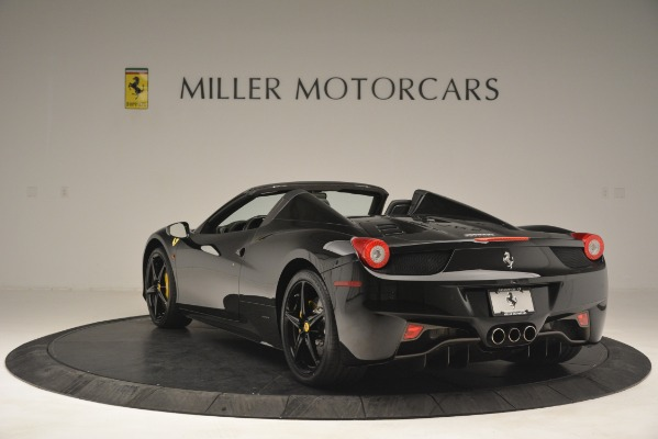Used 2013 Ferrari 458 Spider for sale Sold at Alfa Romeo of Greenwich in Greenwich CT 06830 5
