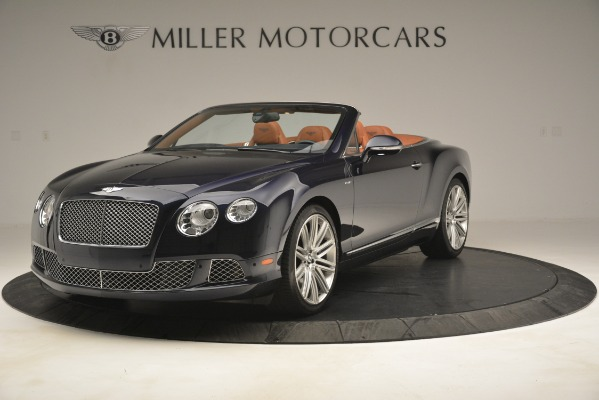 Used 2014 Bentley Continental GT Speed for sale Sold at Alfa Romeo of Greenwich in Greenwich CT 06830 1