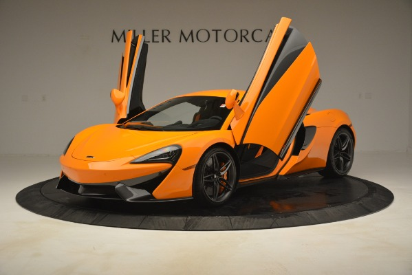 New 2019 McLaren 570S Coupe for sale Sold at Alfa Romeo of Greenwich in Greenwich CT 06830 14