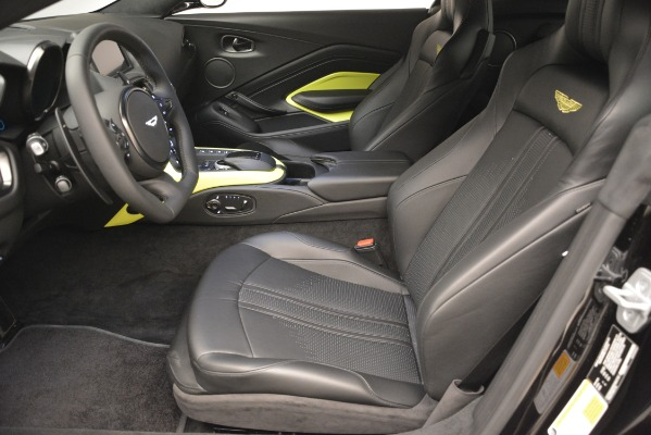 New 2019 Aston Martin Vantage Coupe for sale Sold at Alfa Romeo of Greenwich in Greenwich CT 06830 15