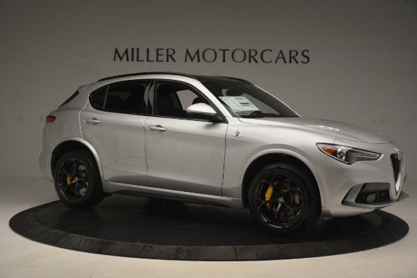 New 2019 Alfa Romeo Stelvio Quadrifoglio for sale $86,440 at Alfa Romeo of Greenwich in Greenwich CT 06830 10