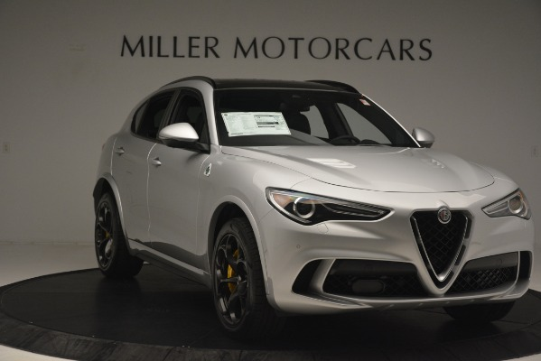 New 2019 Alfa Romeo Stelvio Quadrifoglio for sale $86,440 at Alfa Romeo of Greenwich in Greenwich CT 06830 11