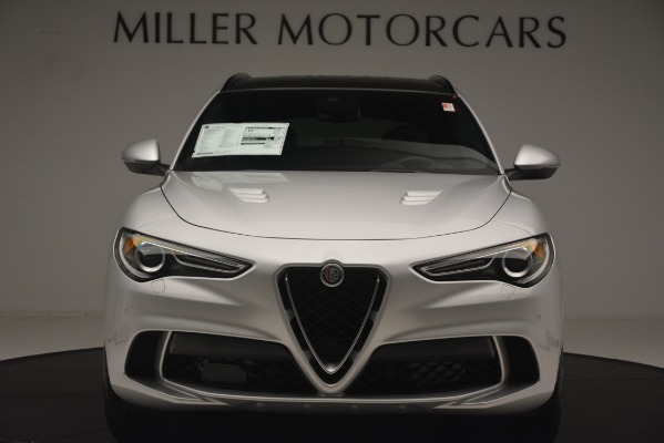 New 2019 Alfa Romeo Stelvio Quadrifoglio for sale $86,440 at Alfa Romeo of Greenwich in Greenwich CT 06830 12