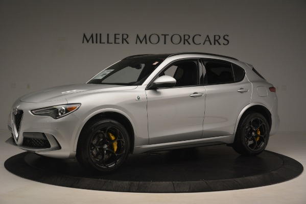 New 2019 Alfa Romeo Stelvio Quadrifoglio for sale $86,440 at Alfa Romeo of Greenwich in Greenwich CT 06830 2
