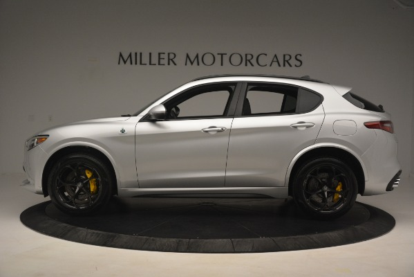New 2019 Alfa Romeo Stelvio Quadrifoglio for sale $86,440 at Alfa Romeo of Greenwich in Greenwich CT 06830 3