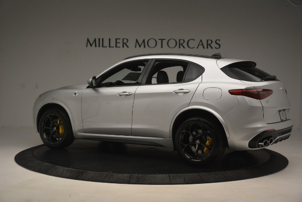 New 2019 Alfa Romeo Stelvio Quadrifoglio for sale $86,440 at Alfa Romeo of Greenwich in Greenwich CT 06830 4