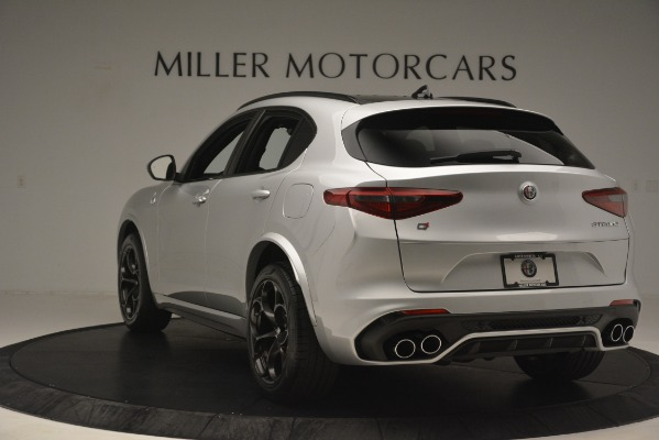 New 2019 Alfa Romeo Stelvio Quadrifoglio for sale $86,440 at Alfa Romeo of Greenwich in Greenwich CT 06830 5