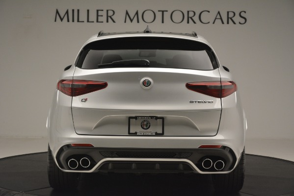 New 2019 Alfa Romeo Stelvio Quadrifoglio for sale $86,440 at Alfa Romeo of Greenwich in Greenwich CT 06830 6