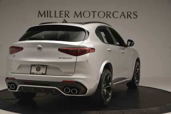 New 2019 Alfa Romeo Stelvio Quadrifoglio for sale $86,440 at Alfa Romeo of Greenwich in Greenwich CT 06830 7