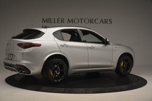 New 2019 Alfa Romeo Stelvio Quadrifoglio for sale $86,440 at Alfa Romeo of Greenwich in Greenwich CT 06830 8
