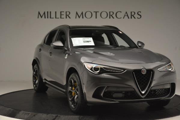 New 2019 Alfa Romeo Stelvio Quadrifoglio for sale Sold at Alfa Romeo of Greenwich in Greenwich CT 06830 11