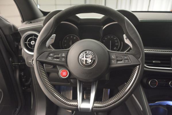 New 2019 Alfa Romeo Stelvio Quadrifoglio for sale Sold at Alfa Romeo of Greenwich in Greenwich CT 06830 18