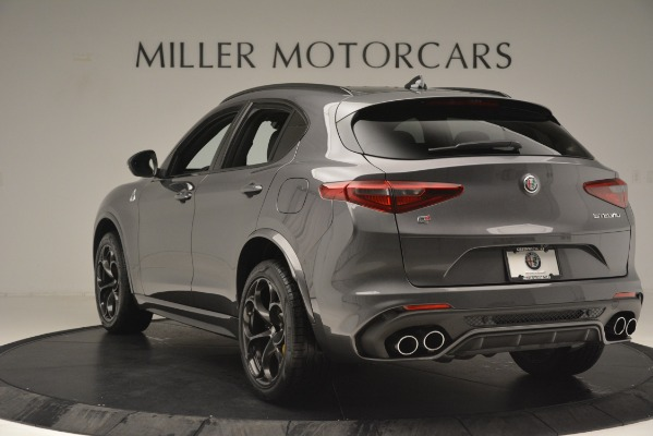 New 2019 Alfa Romeo Stelvio Quadrifoglio for sale Sold at Alfa Romeo of Greenwich in Greenwich CT 06830 5