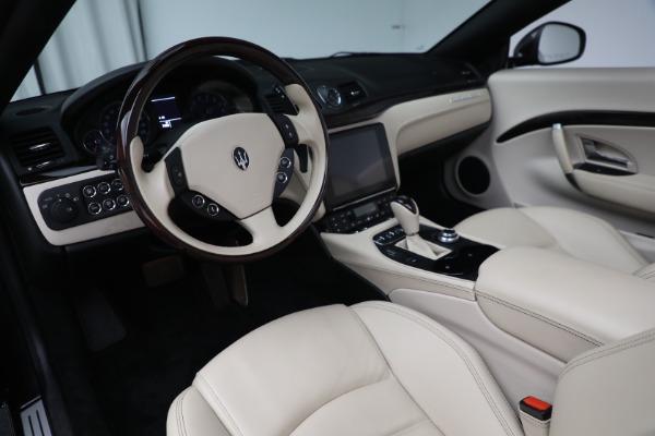 New 2019 Maserati GranTurismo Sport Convertible for sale Sold at Alfa Romeo of Greenwich in Greenwich CT 06830 19