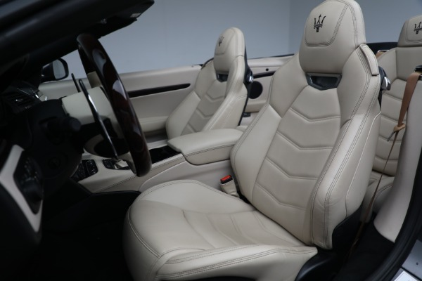 New 2019 Maserati GranTurismo Sport Convertible for sale Sold at Alfa Romeo of Greenwich in Greenwich CT 06830 21