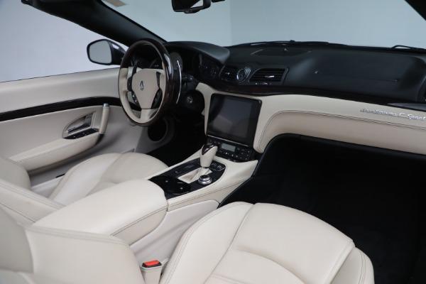 New 2019 Maserati GranTurismo Sport Convertible for sale Sold at Alfa Romeo of Greenwich in Greenwich CT 06830 22