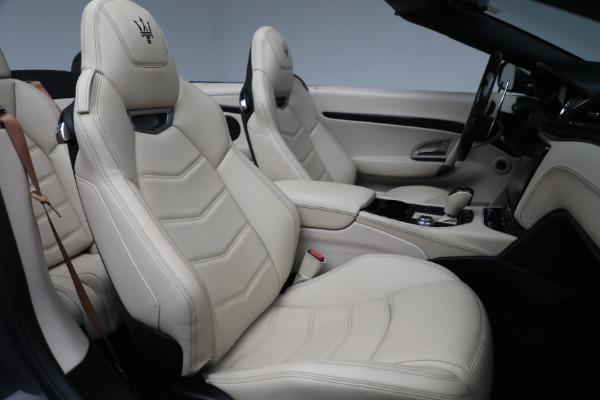 New 2019 Maserati GranTurismo Sport Convertible for sale Sold at Alfa Romeo of Greenwich in Greenwich CT 06830 23