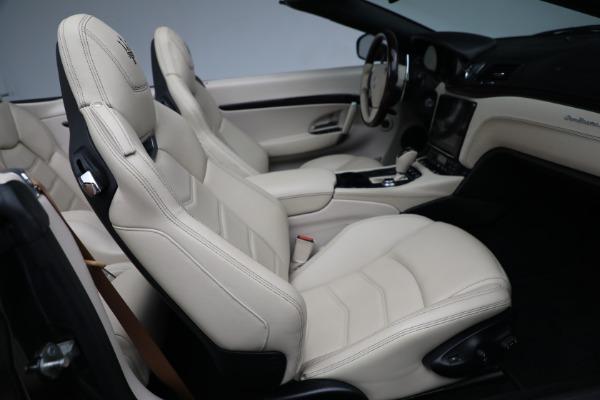 New 2019 Maserati GranTurismo Sport Convertible for sale Sold at Alfa Romeo of Greenwich in Greenwich CT 06830 24