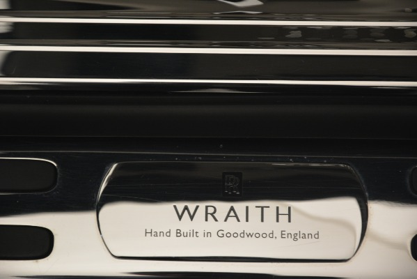 Used 2016 Rolls-Royce Wraith for sale Sold at Alfa Romeo of Greenwich in Greenwich CT 06830 27