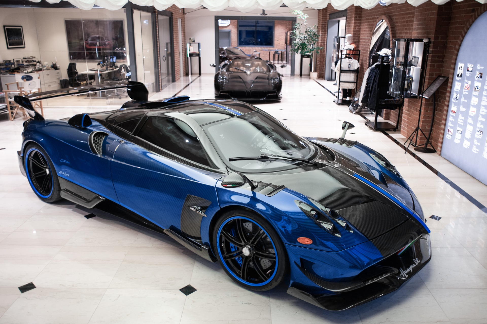 Used 2017 Pagani Huayra BC Macchina Volante for sale Call for price at Alfa Romeo of Greenwich in Greenwich CT 06830 1