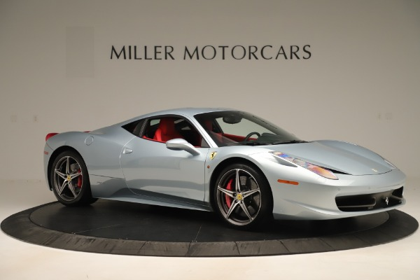 Used 2015 Ferrari 458 Italia for sale Sold at Alfa Romeo of Greenwich in Greenwich CT 06830 10