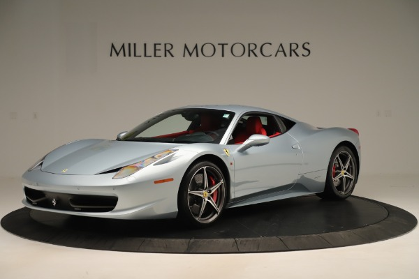 Used 2015 Ferrari 458 Italia for sale Sold at Alfa Romeo of Greenwich in Greenwich CT 06830 2