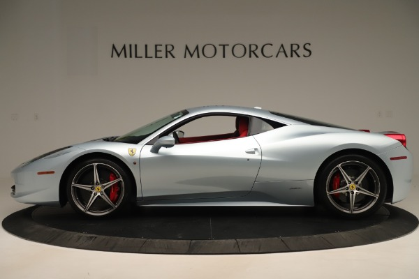 Used 2015 Ferrari 458 Italia for sale Sold at Alfa Romeo of Greenwich in Greenwich CT 06830 3