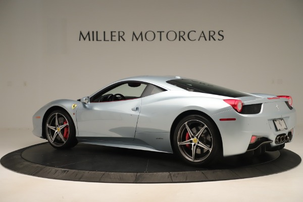 Used 2015 Ferrari 458 Italia for sale $215,900 at Alfa Romeo of Greenwich in Greenwich CT 06830 4