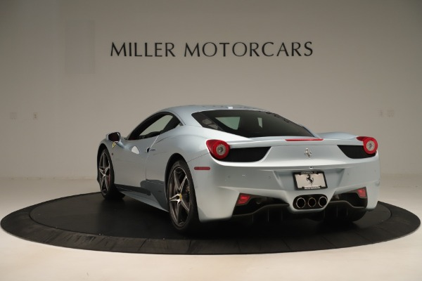 Used 2015 Ferrari 458 Italia for sale Sold at Alfa Romeo of Greenwich in Greenwich CT 06830 5