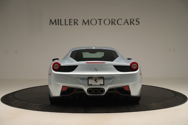 Used 2015 Ferrari 458 Italia for sale Sold at Alfa Romeo of Greenwich in Greenwich CT 06830 6