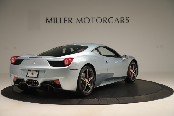 Used 2015 Ferrari 458 Italia for sale Sold at Alfa Romeo of Greenwich in Greenwich CT 06830 7