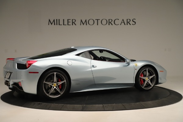 Used 2015 Ferrari 458 Italia for sale Sold at Alfa Romeo of Greenwich in Greenwich CT 06830 8
