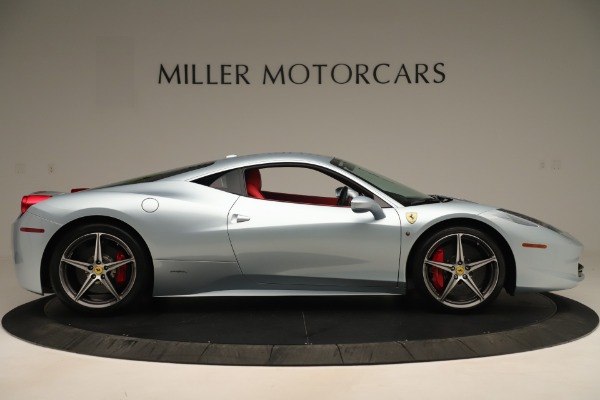 Used 2015 Ferrari 458 Italia for sale Sold at Alfa Romeo of Greenwich in Greenwich CT 06830 9
