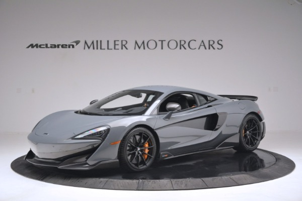 New 2019 McLaren 600LT Coupe for sale Sold at Alfa Romeo of Greenwich in Greenwich CT 06830 1
