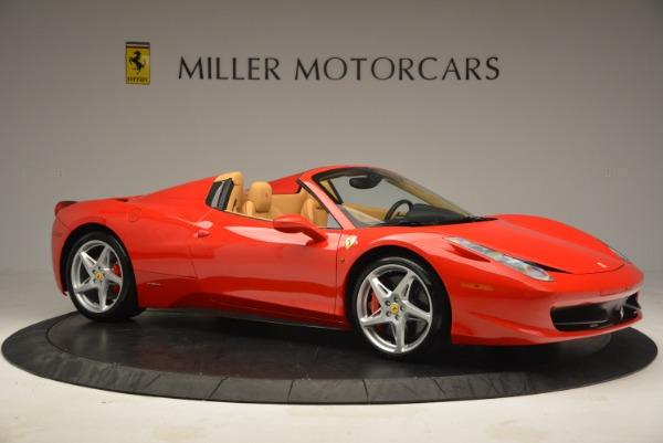 Used 2013 Ferrari 458 Spider for sale Sold at Alfa Romeo of Greenwich in Greenwich CT 06830 10