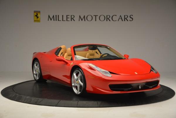 Used 2013 Ferrari 458 Spider for sale Sold at Alfa Romeo of Greenwich in Greenwich CT 06830 11