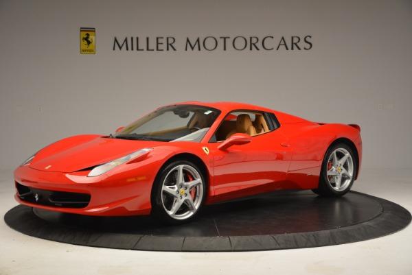 Used 2013 Ferrari 458 Spider for sale Sold at Alfa Romeo of Greenwich in Greenwich CT 06830 14