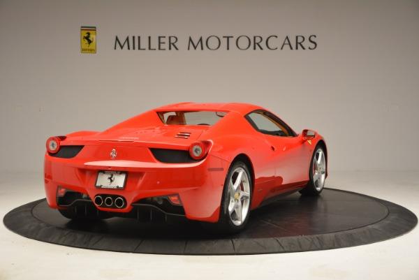 Used 2013 Ferrari 458 Spider for sale Sold at Alfa Romeo of Greenwich in Greenwich CT 06830 19