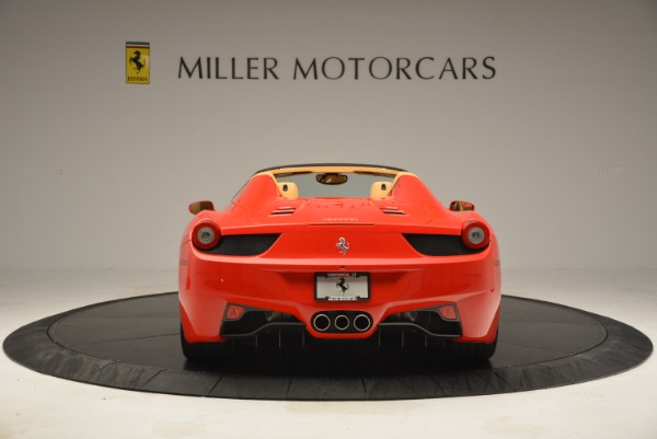 Used 2013 Ferrari 458 Spider for sale Sold at Alfa Romeo of Greenwich in Greenwich CT 06830 6