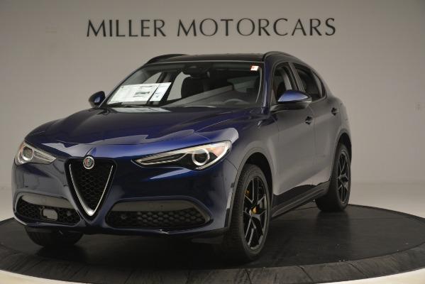 New 2019 Alfa Romeo Stelvio Sport Q4 for sale Sold at Alfa Romeo of Greenwich in Greenwich CT 06830 1