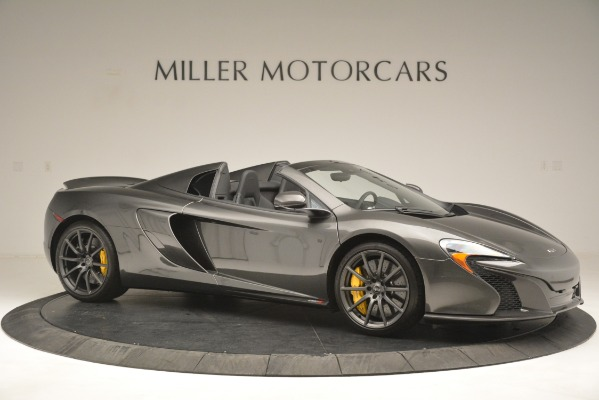 Used 2016 McLaren 650S Spider Convertible for sale Sold at Alfa Romeo of Greenwich in Greenwich CT 06830 10