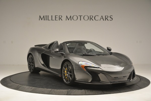 Used 2016 McLaren 650S Spider Convertible for sale Sold at Alfa Romeo of Greenwich in Greenwich CT 06830 11