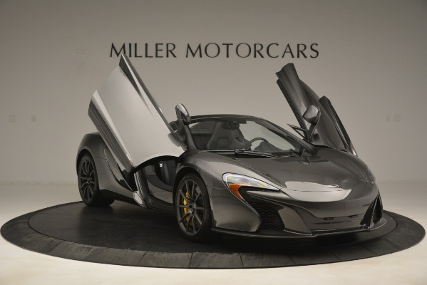 Used 2016 McLaren 650S Spider Convertible for sale Sold at Alfa Romeo of Greenwich in Greenwich CT 06830 12
