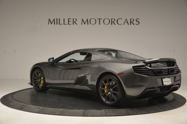 Used 2016 McLaren 650S Spider Convertible for sale Sold at Alfa Romeo of Greenwich in Greenwich CT 06830 17