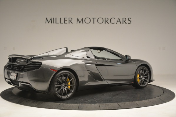 Used 2016 McLaren 650S Spider Convertible for sale Sold at Alfa Romeo of Greenwich in Greenwich CT 06830 8