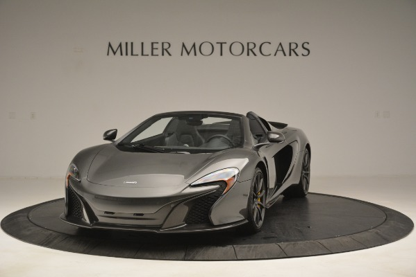 Used 2016 McLaren 650S Spider Convertible for sale Sold at Alfa Romeo of Greenwich in Greenwich CT 06830 1